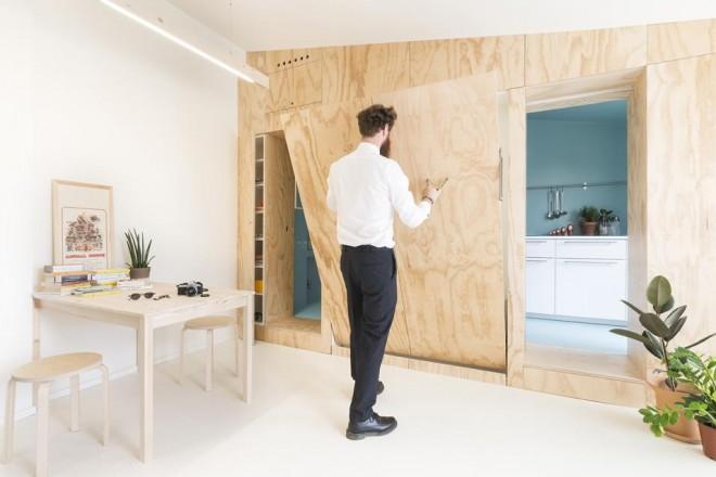Mobili Per Casa Piccola : Casa piccola idee salvaspazio living corriere