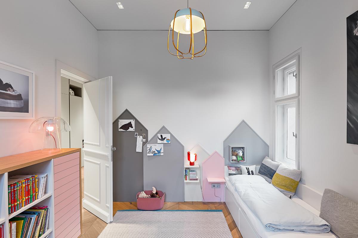 Idee Pittura Cameretta Bambina cameretta bambini: foto, idee e soluzioni di design - foto 1