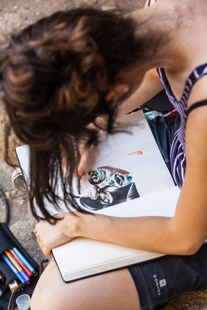 Disegnatori a La Città Incantata