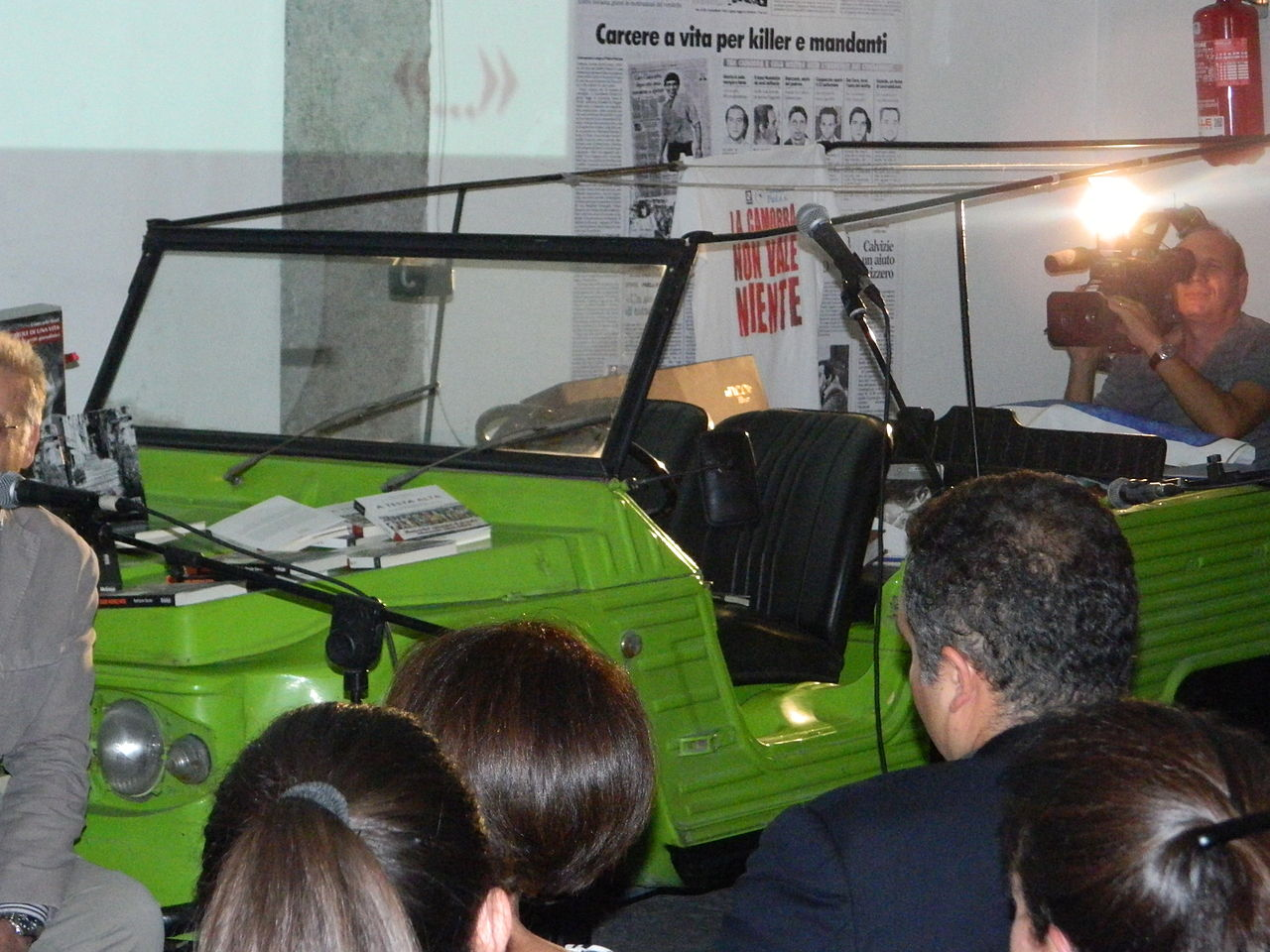 La Citroën Méhari di Giancarlo Siani. Foto Wikipedia