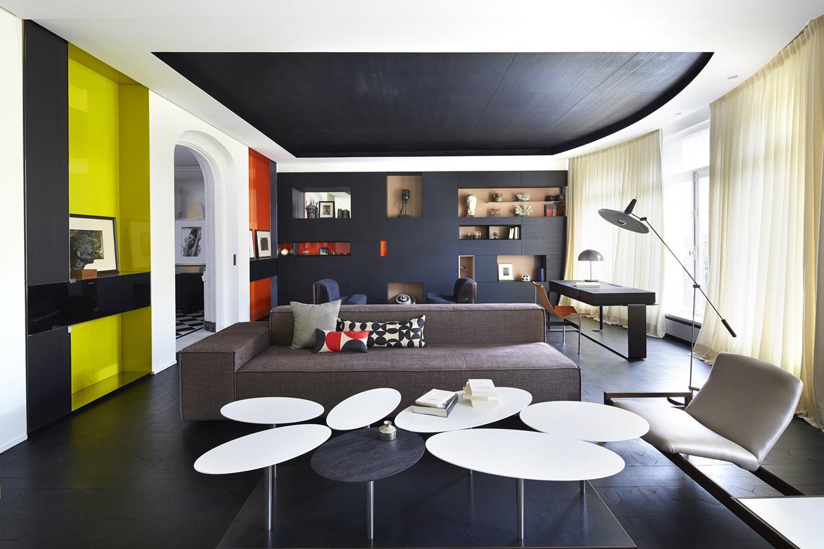 Appartamento classico a parigi design bismut living for Appartamento new design roma lorenz