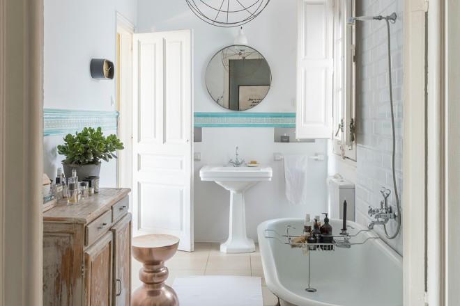 15 ispirazioni per un bagno vintage livingcorriere for Accessori per bagno