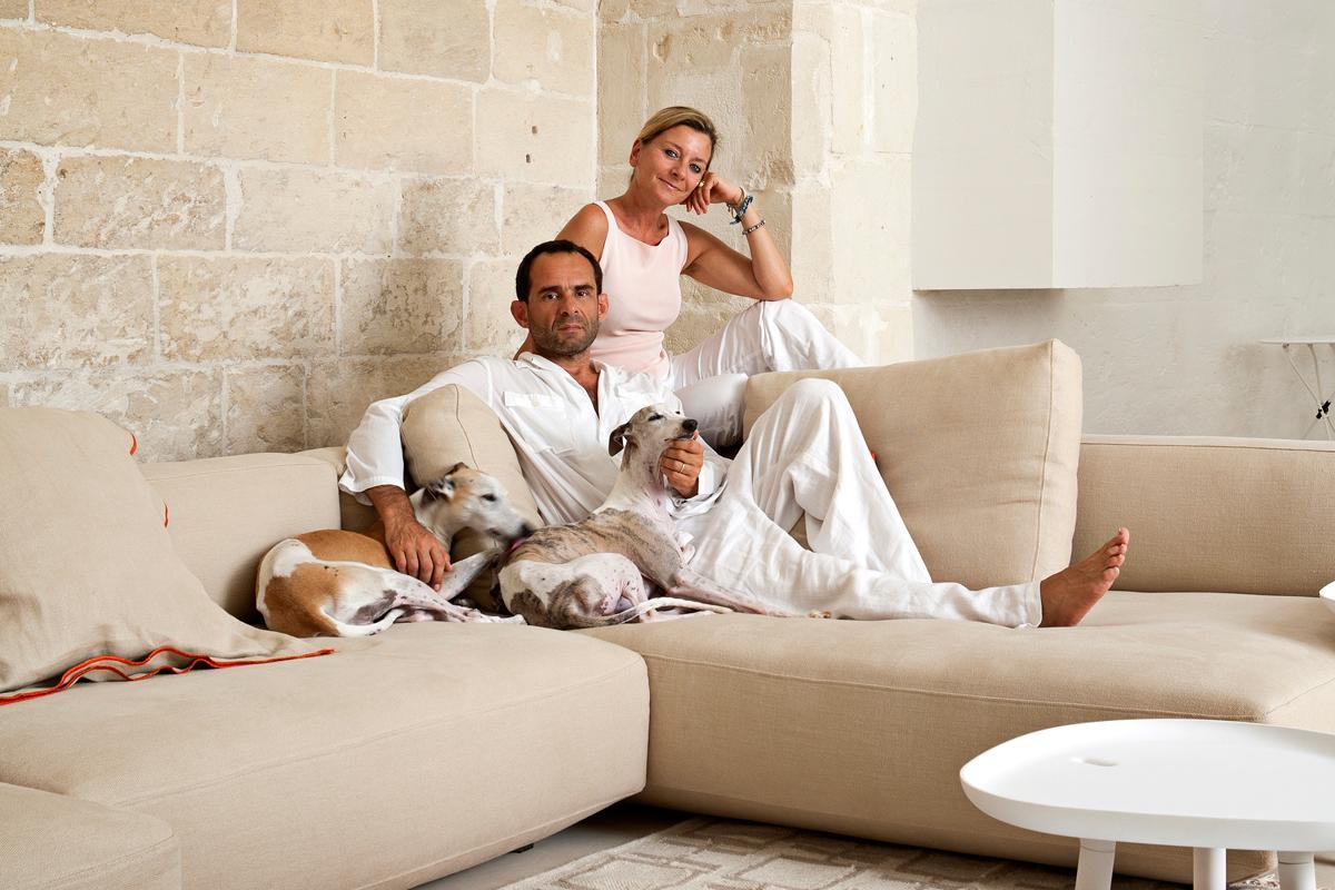 Architetti Famosi Lecce a casa di ludovica e roberto palomba – living corriere