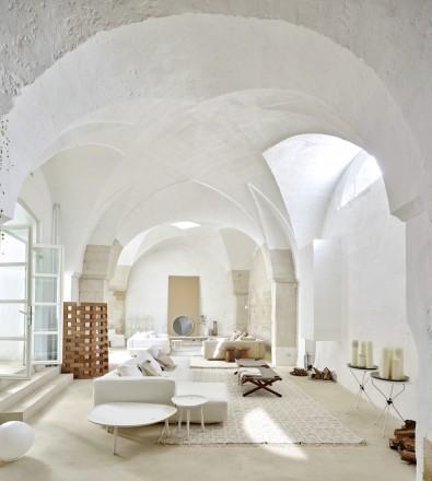 A casa di ludovica e roberto palomba living corriere for Piani di casa con soffitti a volta