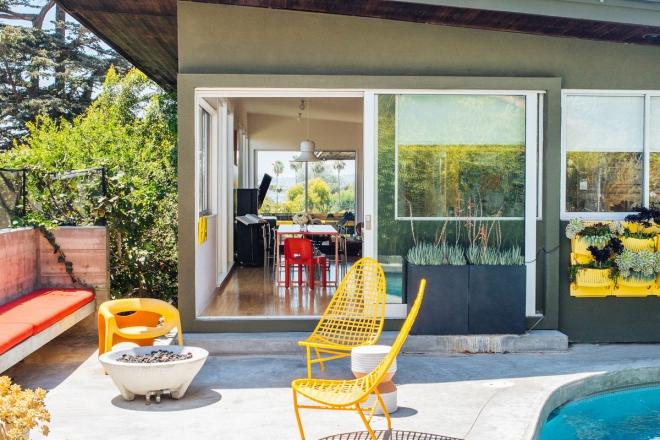 Villa anni 50 a los angeles living corriere for Case in stile west indie