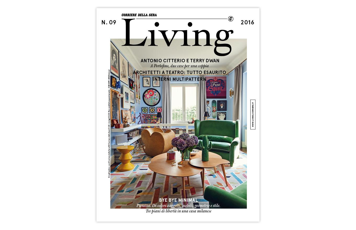 Disegno la cucina del corriere : Living di settembre - LivingCorriere