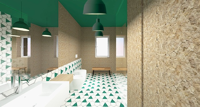 Un bagno low-cost - Living Corriere