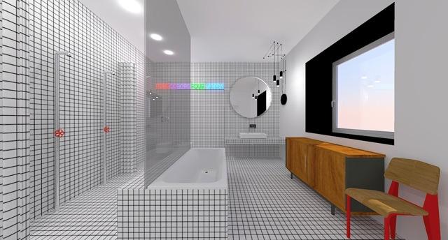 Un bagno a quadretti - Comporre un bagno ...