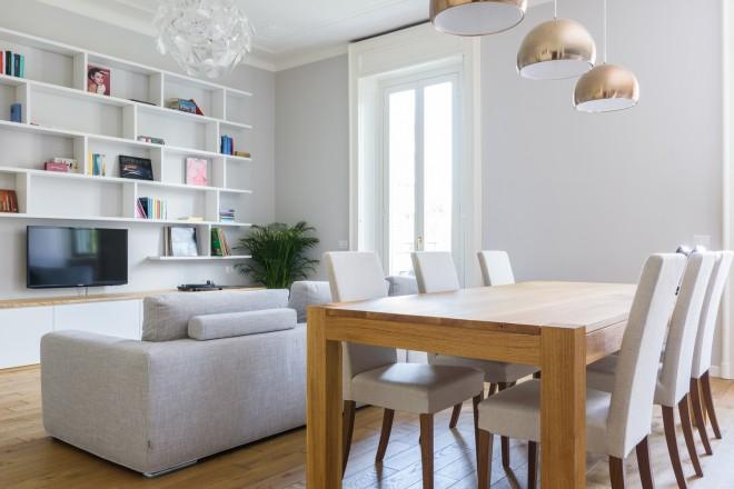 Classico a milano foto 1 livingcorriere for Sala da pranzo foto