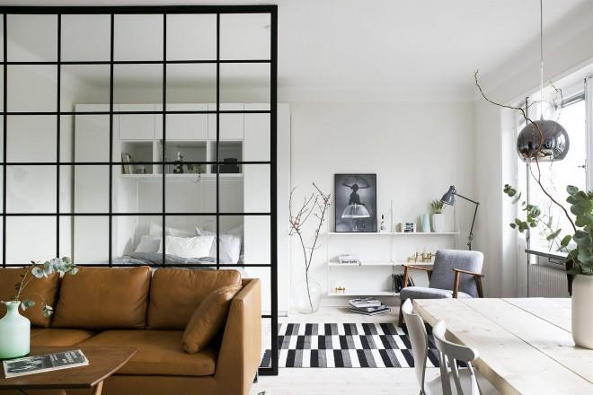 Dividere le stanze senza muri: foto case architetti - Living Corriere