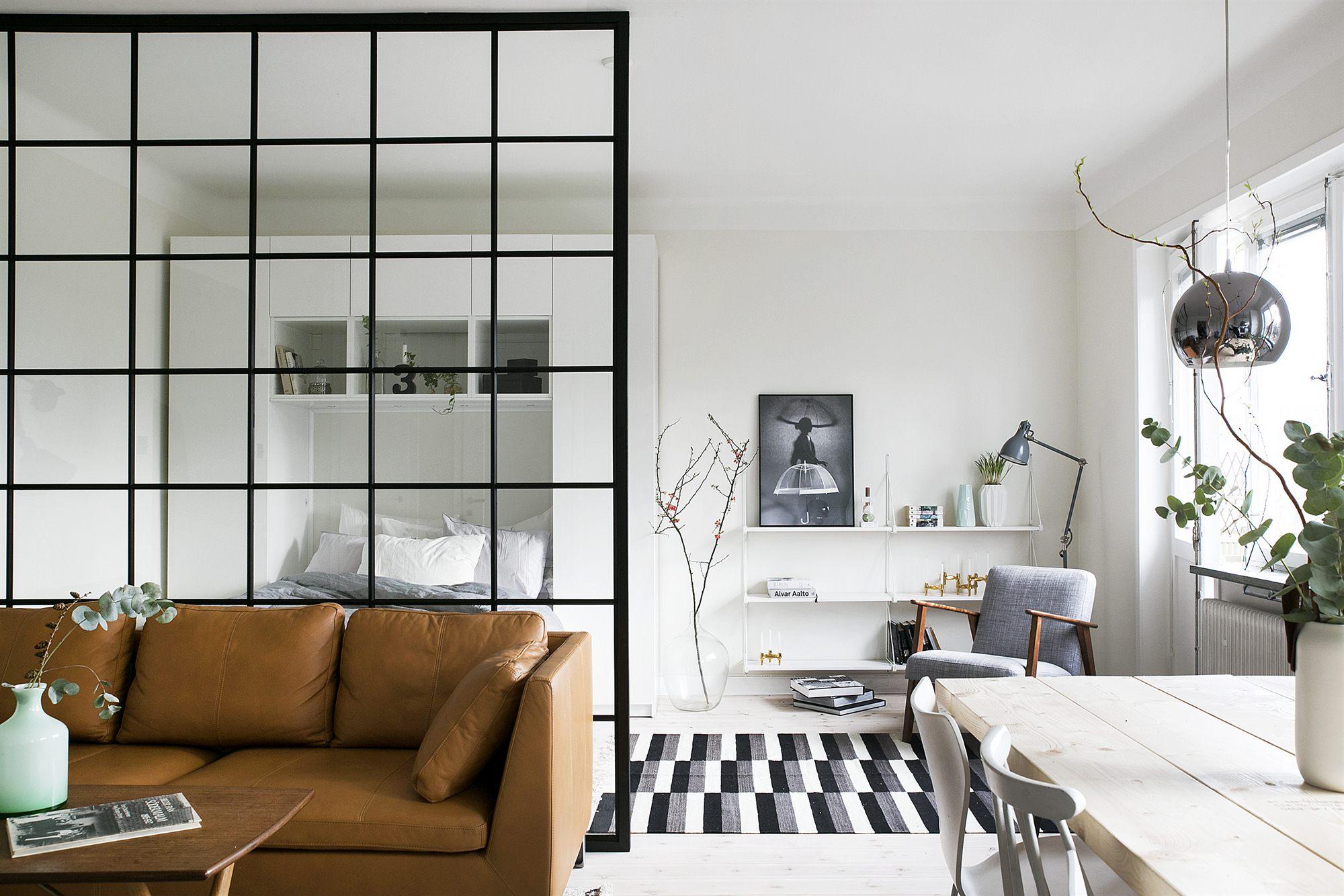 dividere le stanze senza muri: foto case architetti - living corriere - Dividere Cucina Dal Soggiorno Con Vetro 2