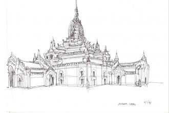 Ananda Temple_Birmania