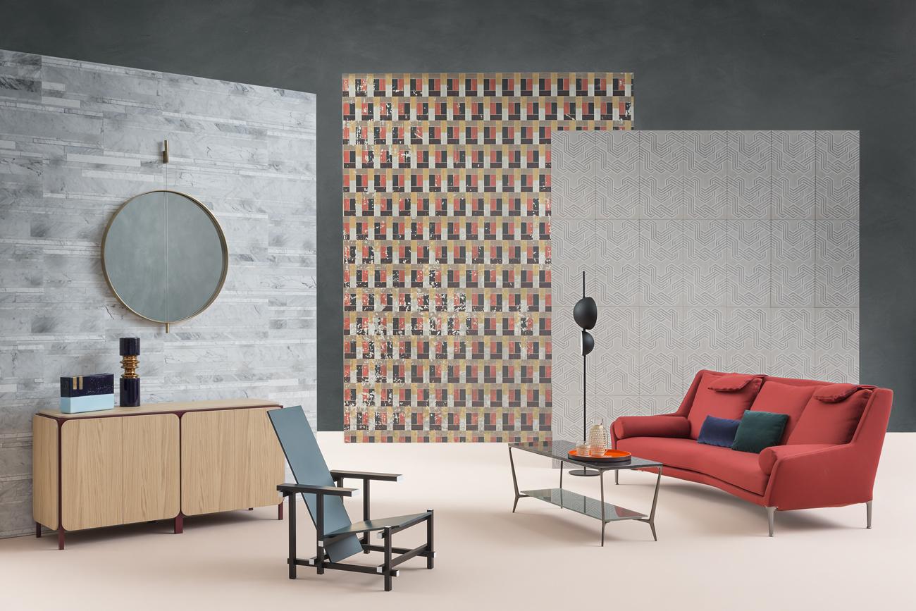 Arredamenti Interni Case Moderne video tutorial: decorare con i rivestimenti - living corriere