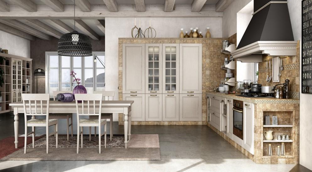 Vetrine E Alzate Moderne Design.Foto Delle Cucine In Muratura Moderne E Personalizzabili Living