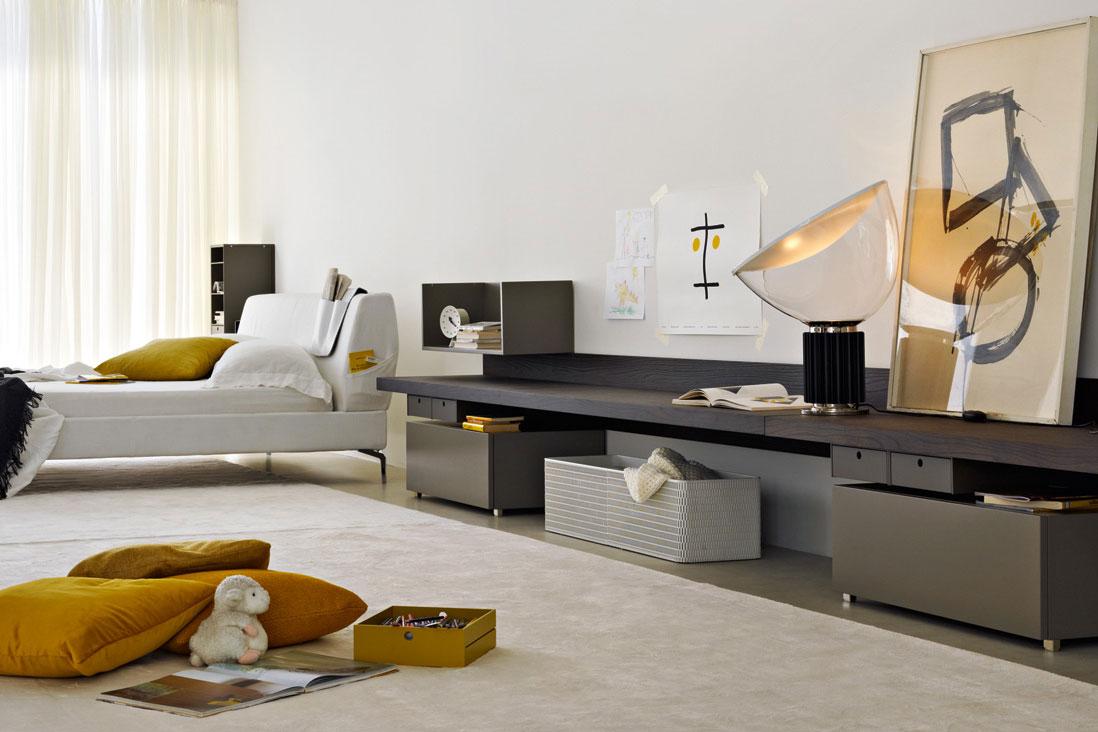 35 mobili contenitori per la zona notte living corriere for Contenitori camera da letto