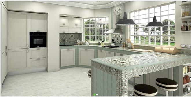 Foto delle cucine in muratura moderne e personalizzabili living corriere - Cucine living moderne ...