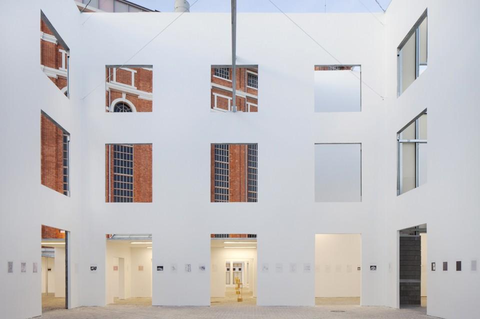 03. The Form of Form, veduta dell'installazione alla Lisbon Architecture Triennale 2016