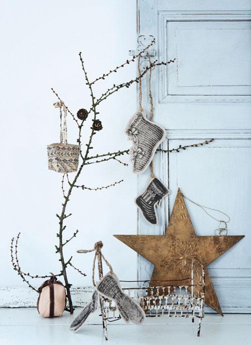9 idee per decorare con le piante di Natale - Foto