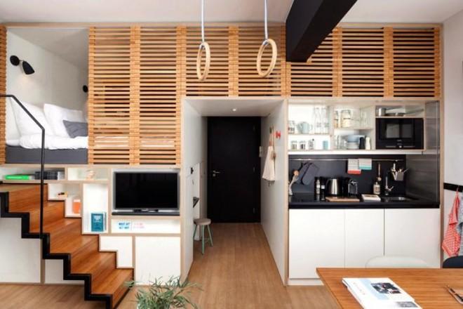 10 regole per arredare un monolocale foto foto 1 for Arredamento per case piccole