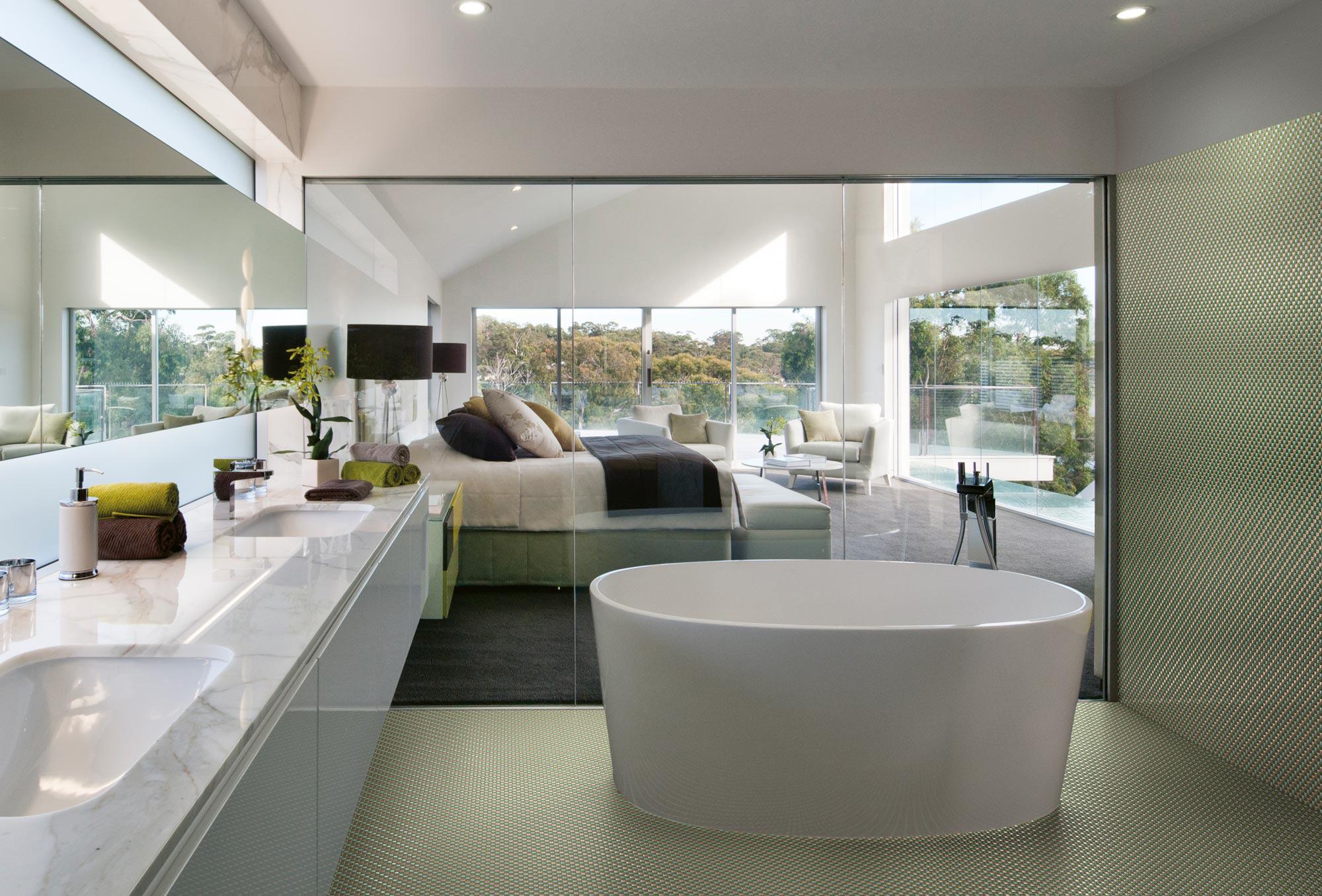 Mosaico per il bagno foto e idee living corriere - Arredo bagno design ...