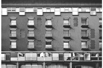 Complessi per uffici negozi e abitazioni in Corso Europa 1953 - 1966