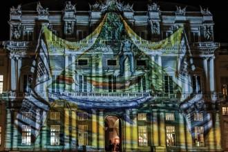 Palazzo Ducale a Capodanno videomapping