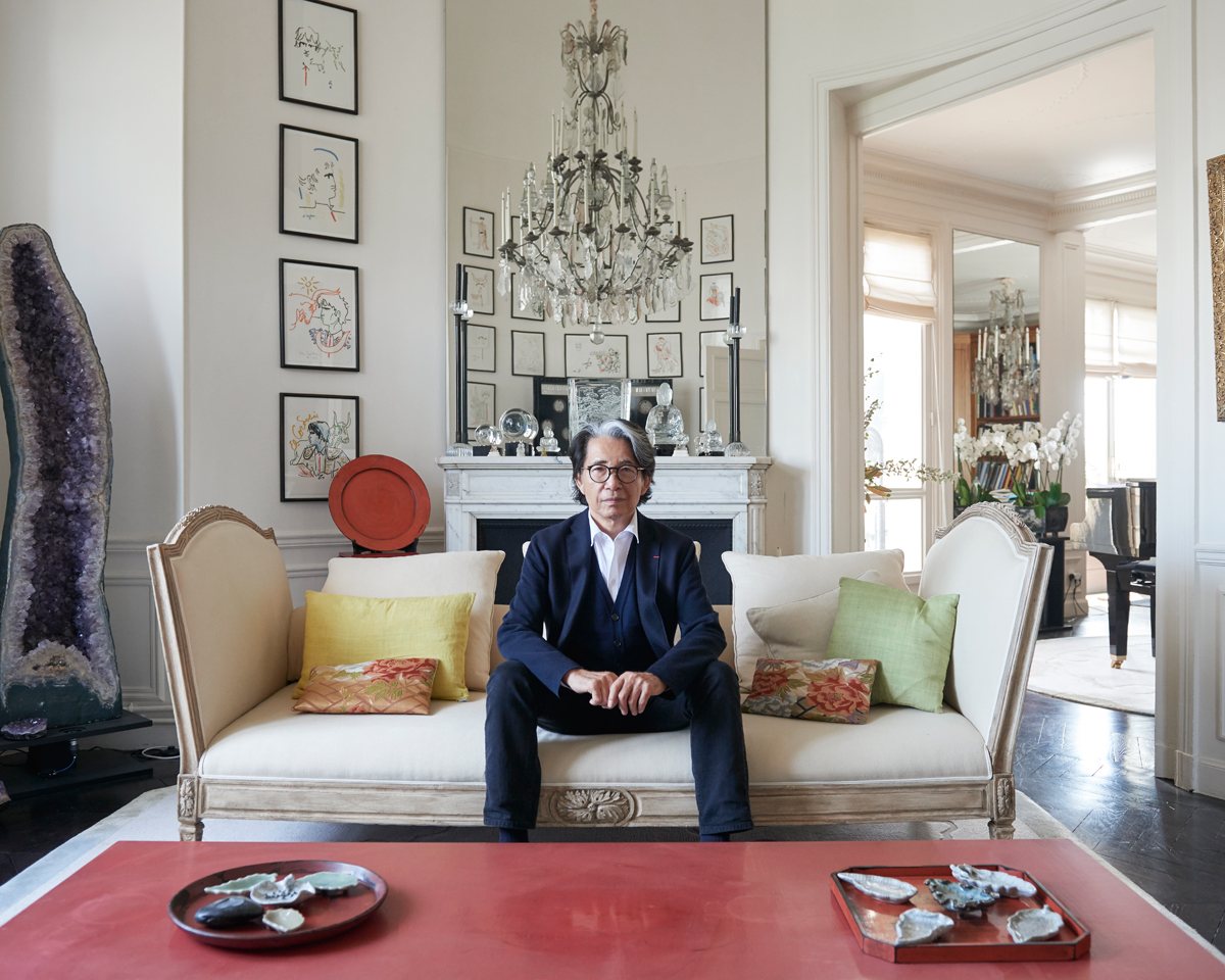 La casa di kenzo takada a parigi living corriere for Arredamento case