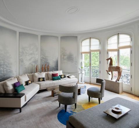 La casa di kenzo takada a parigi foto living corriere for Casa corriere