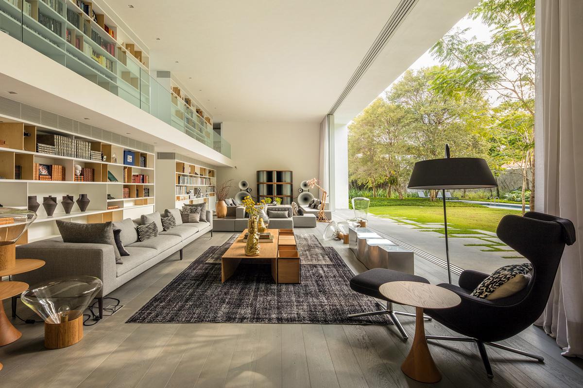 Villa di marcio kogan a san paolo brasile living corriere for Case realizzate da architetti