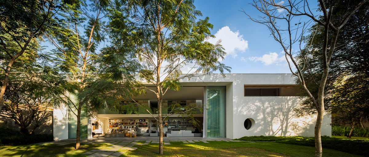 Villa di Marcio Kogan a San Paolo – Foto