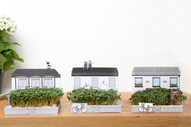8. Villaggio inglese con piccola casa e annesso giardino