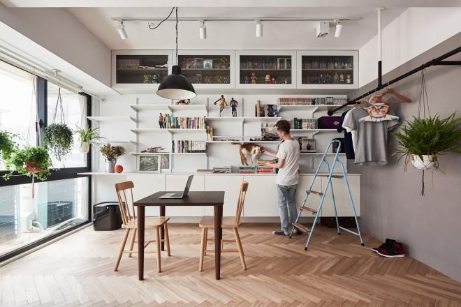 Idee per arredare un loft di 45 mq living corriere for Arredare loft open space