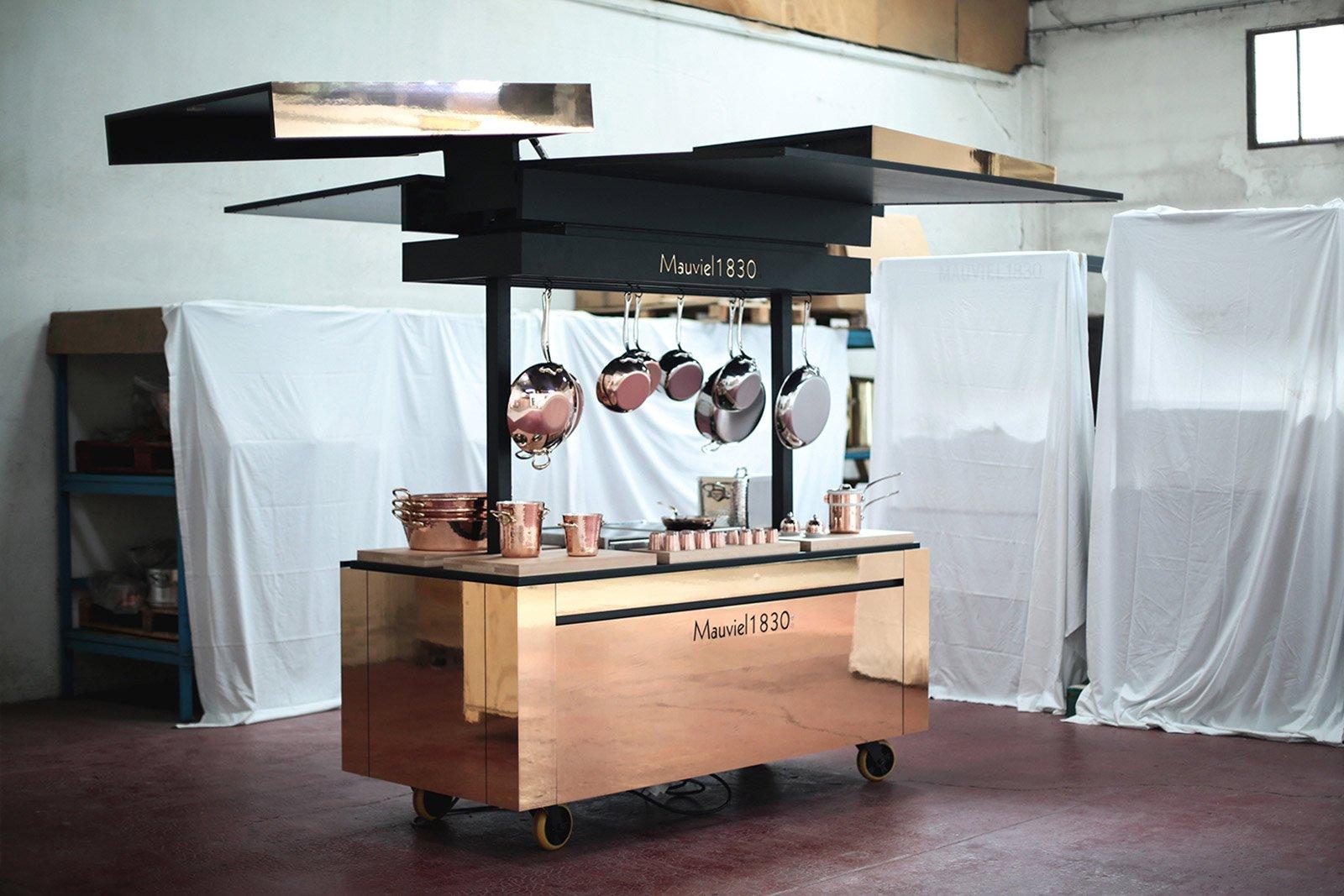 La cucina Transformer di Mauviel 1830 - LivingCorriere