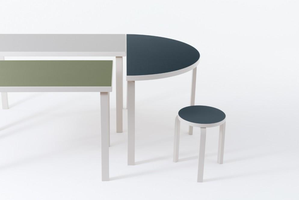 Artek_Aalto_Tables_Stool_Stone_White_Linoleum_1