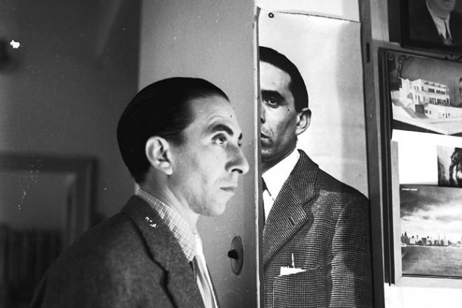 Copia di 1)Duplice ritratto di Parisi, Cernobbio 1953