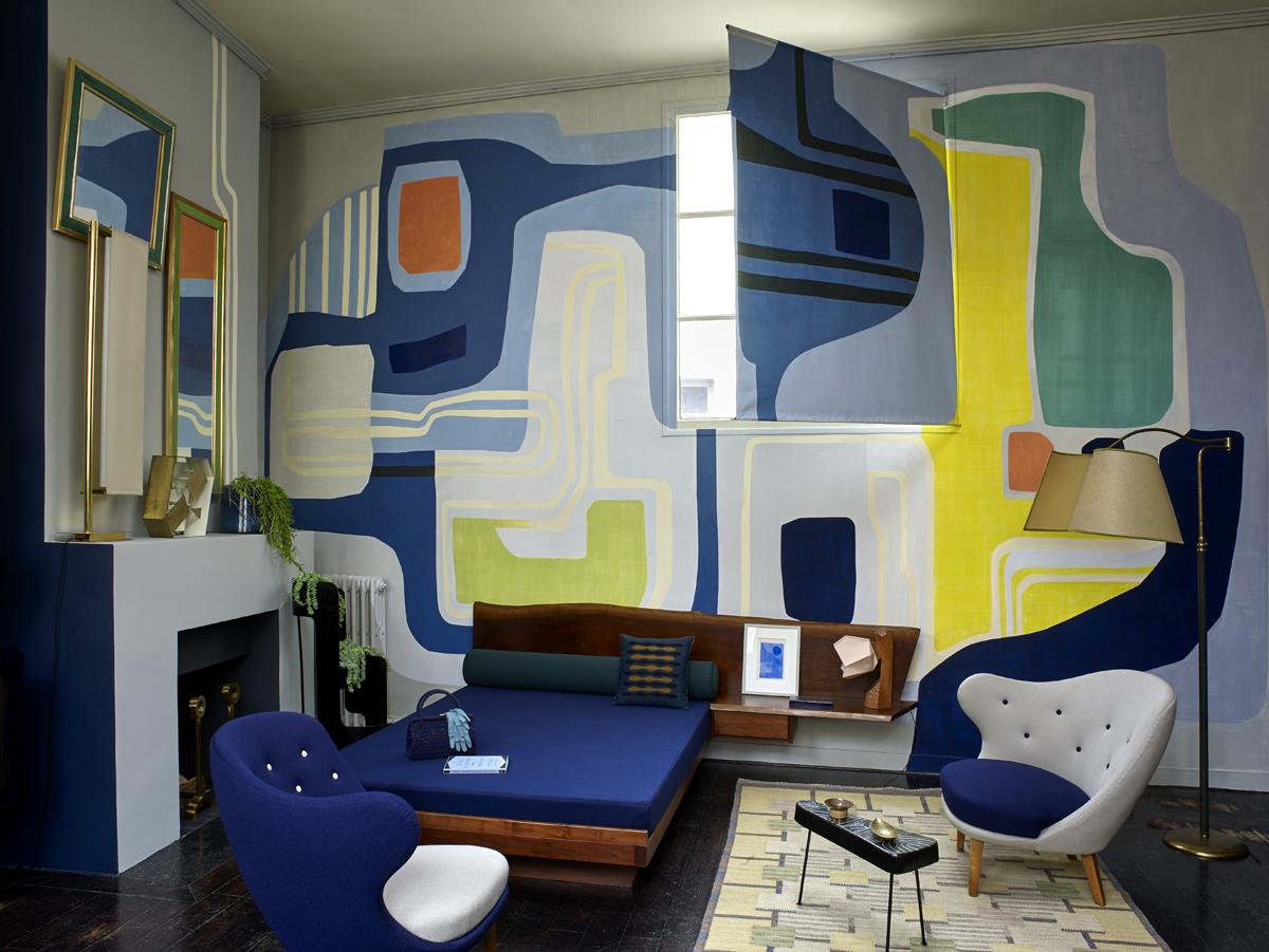 La casa atelier di florence lopez a parigi living corriere for Salone mobile parigi