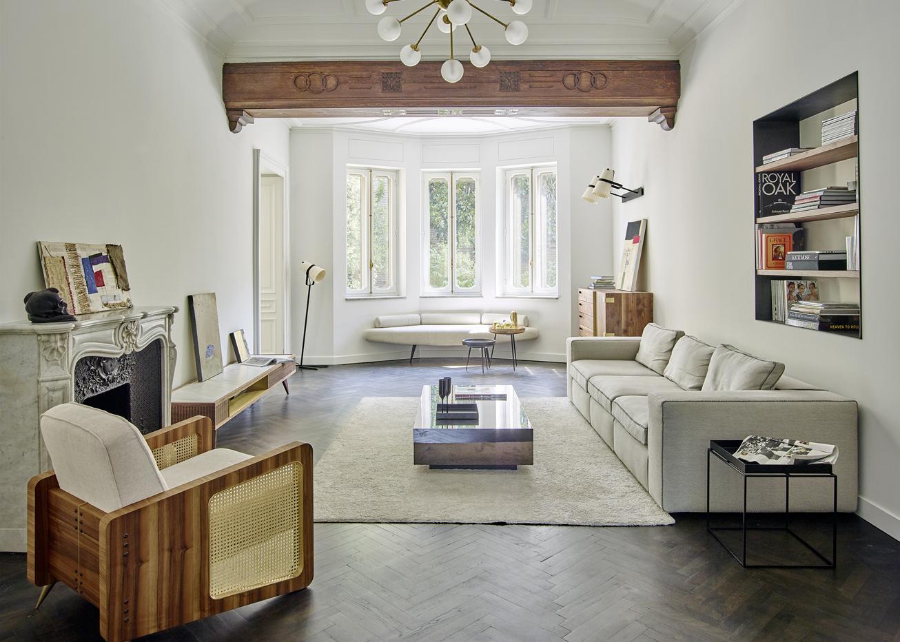 Torino stile novecento livingcorriere for Arredamento interni casa