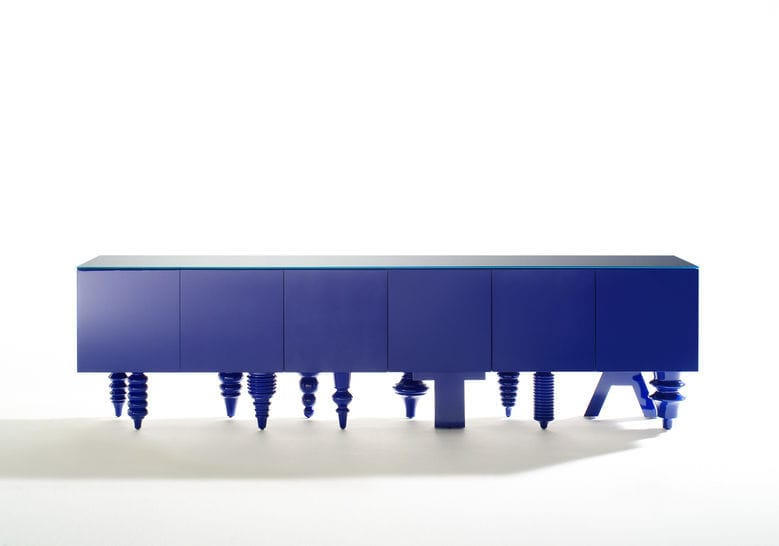 Original design sideboard / MDF / modular / by Jaime Hayon