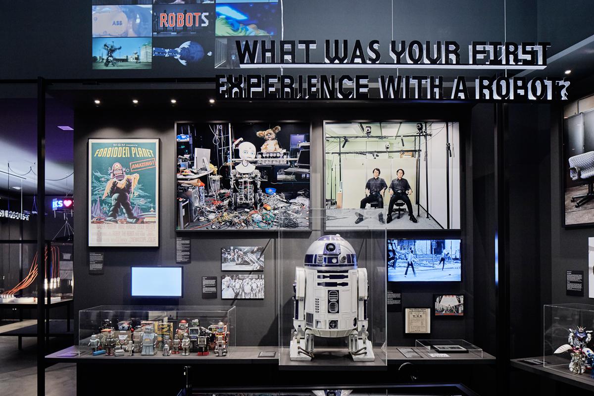 Hello Robot al Vitra Design Museum – Foto