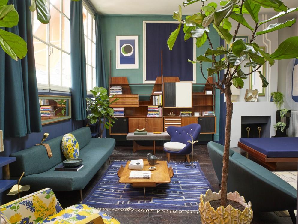 30 idee per il colore pareti del soggiorno - Foto - Foto 1 ...