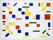 06_Bart van der Leck - Composition No. 8 - 1917