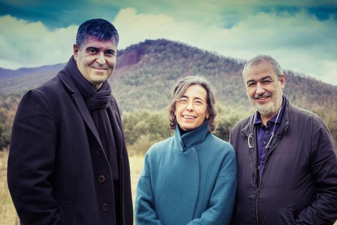 Rafael Aranda, Carme Pigem e Ramon Vilalta - Foto  Javier Lorenzo Domínguez