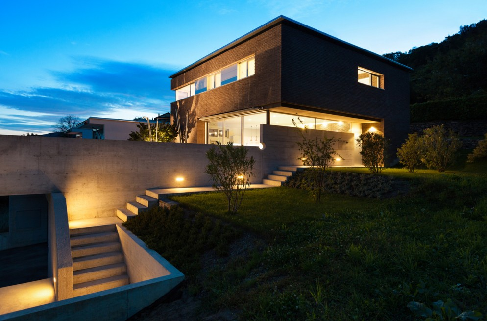 Architecture modern design, house, outdoor