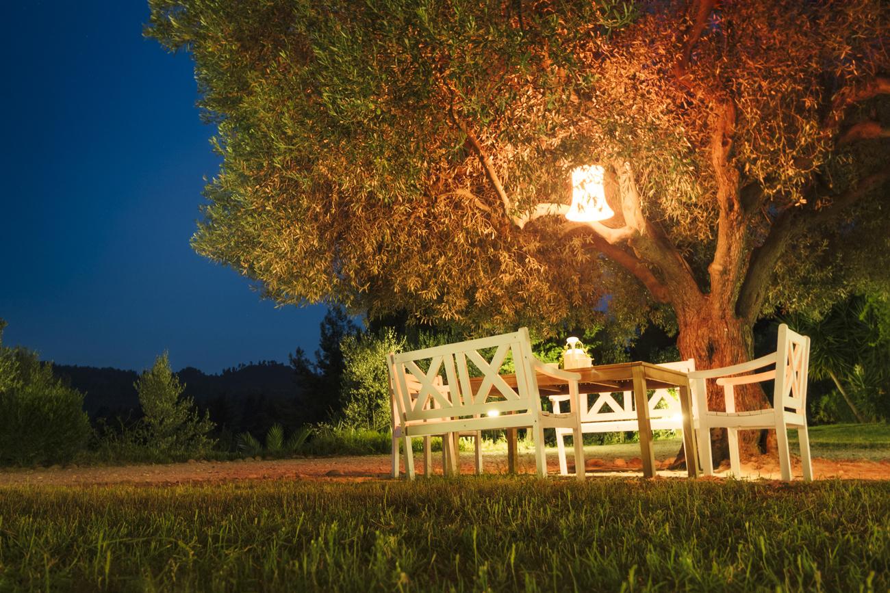 10 consigli per illuminare il giardino livingcorriere - Illuminare il giardino ...