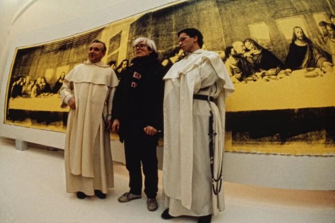 Archivio-Garghetti---Warhol-Andy---Ultima-cena---Palazzo-delle-Stelline---1987---021-apertura