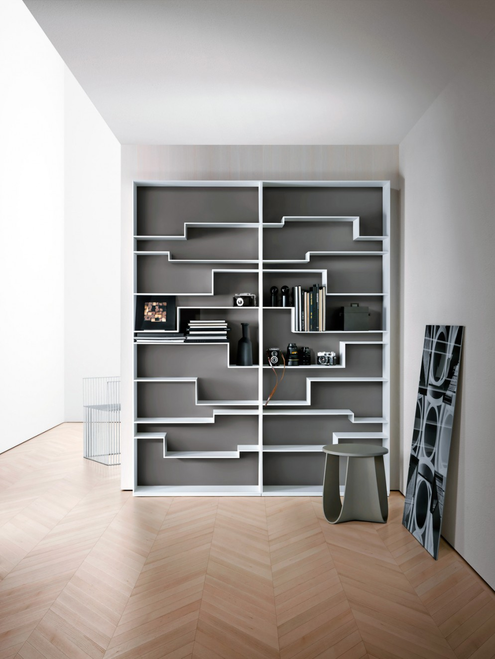 Foto parete attrezzata per il soggiorno: 25 idee di design ...