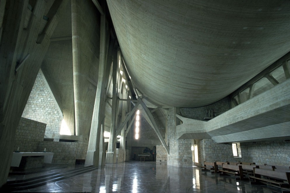 chiesa Autostrada interno