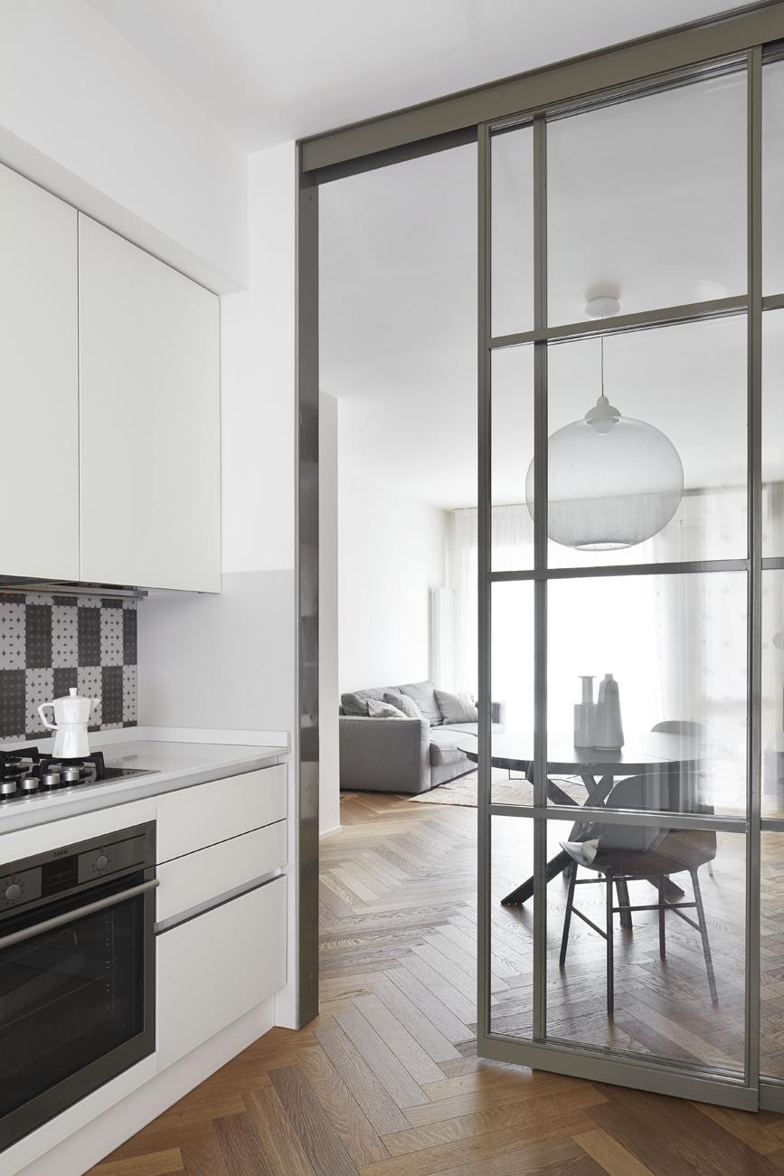 Parete Ferro E Vetro pareti divisorie per la casa (foto) - living corriere