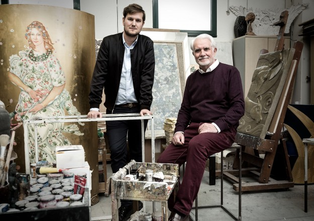 Sebastian Herkner e Lucio Doro – foto ©Laila Pozzo