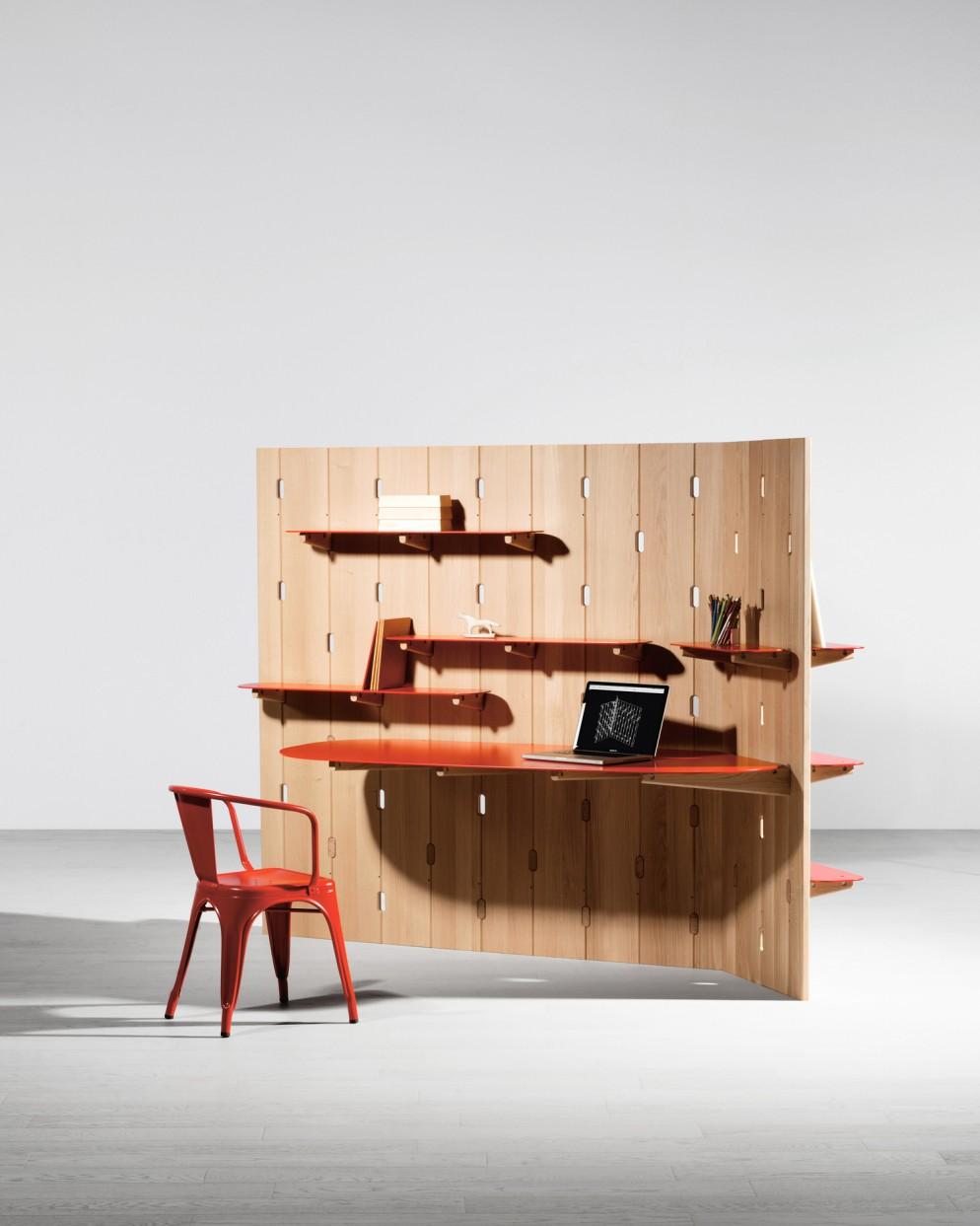gilles-belley-parette-attrezzata-ufficio